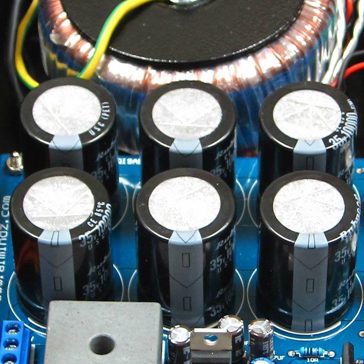 濾波電容 (水塘),除了容量愈大愈好外,其等效串聯電阻 (ESR) 也是愈小愈好!